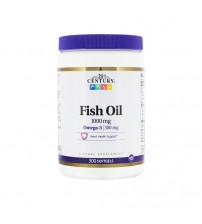 21st Century Omega-3 Fish Oil 1000mg 300caps