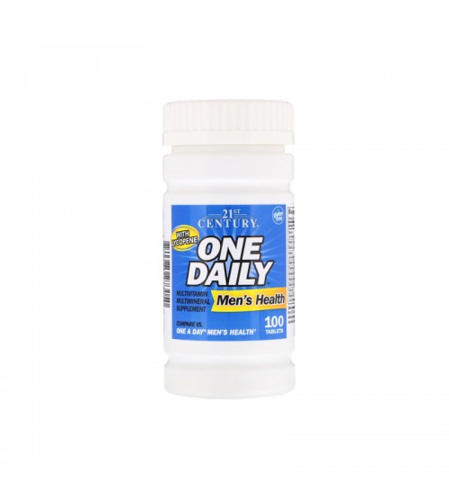 Витамины для мужчин 21st Century One Daily Men's Health 100tabs