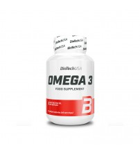 BioTech USA Omega 3 Sport Food Supplement 90caps