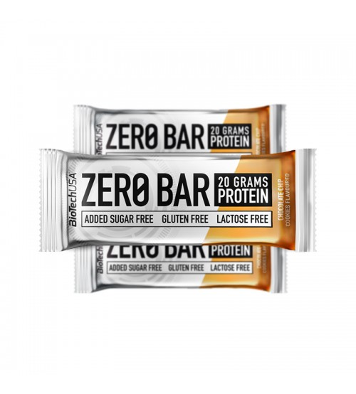 Протеиновые батончики BioTech USA Zero Bar Chocolate - Chip Cookies 20х50g
