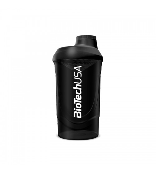 Шейкер BioTech USA Wave Shaker Black 600ml