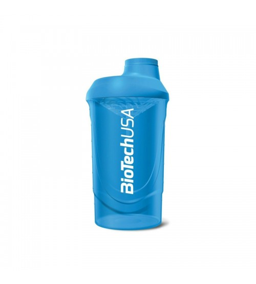 Шейкер BioTech USA Wave Shaker Blue 600ml
