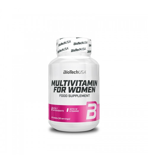 Витамины для женщин BioTech USA Multivitamin for Women 60tabs