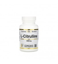 L-Цитруллин California Gold Nutrition L-Citrulline 500mg 60caps