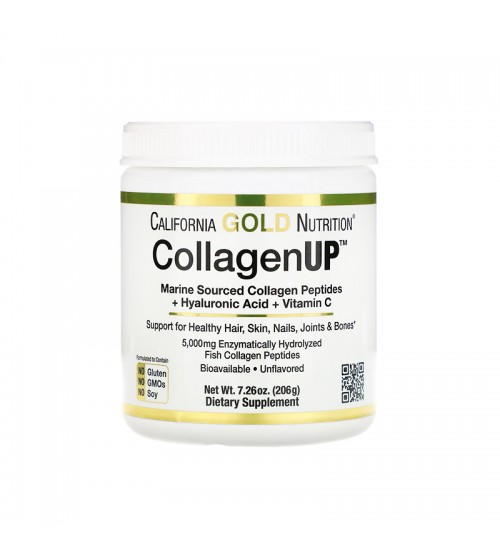 Морской коллаген California Gold Nutrition CollagenUP 206g