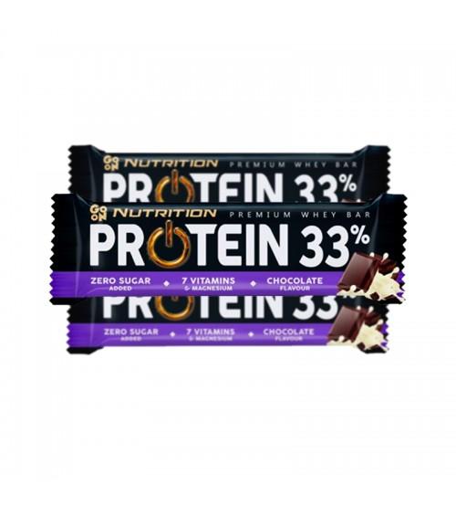 Протеиновый батончик GoOn Nutrition Protein 33% Bar Zero Sugar Added Chocolate 50g
