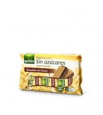 Вафли без сахара Gullon Diet Nature Barquillos de Choco 210g