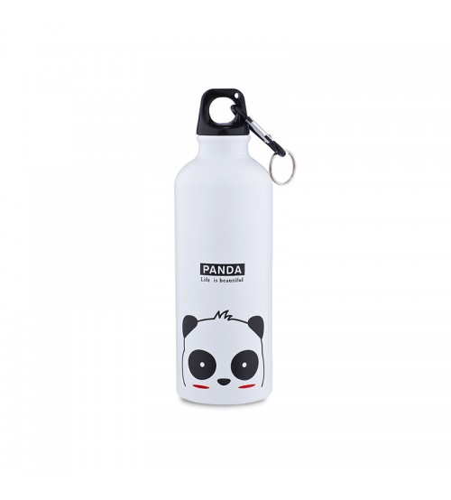 Фляга для воды Kindly Steel Bottle Life is Beautiful Panda White 500ml