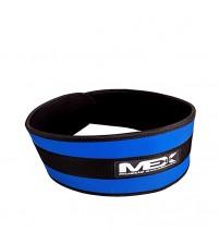 Атлетический пояс MEX Fit-N Wide Belt Blue
