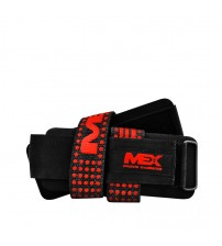 Лямки с застежкой MEX V-PRO Lifting Straps Black