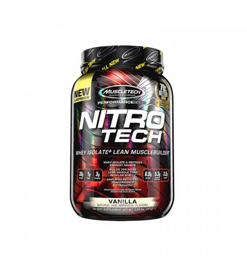 Комплексный протеин Muscletech Nitro Tech Performance Series Muscle Builder 907g