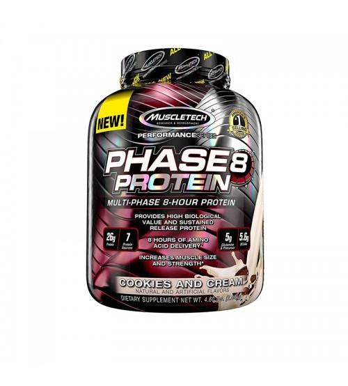 Комплексный протеин Muscletech Performance Series Phase 8 2kg