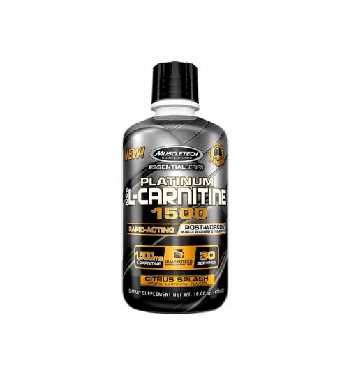 L-Карнитин Muscletech Platinum 100% L-Carnitine 1500 473ml