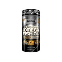 Omega-3 Muscletech 100% Platinum Fish Oil 1000mg 100caps