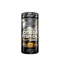 Omega-3 Muscletech 100% Platinum Fish Oil 1000mg 100caps