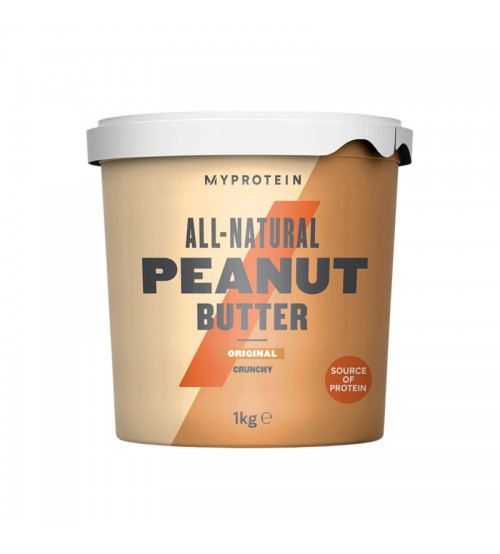 Арахисовая паста Myprotein All-Natural Peanut Butter 1000g