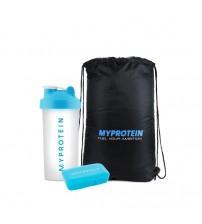 Комплект аксессуаров Myprotein Shaker Bottle + Pillbox + Drawstring Bag