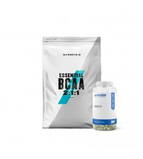 Комплект Myprotein Essential BCAA 250g + Omega-3 90caps