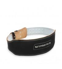 Кожаный атлетический пояс Myprotein Leather Lifting Belt Black