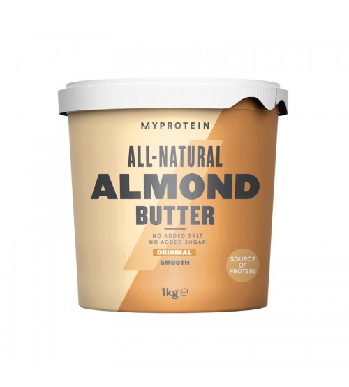Миндальная паста Myprotein All-Natural Almond Butter 1000g