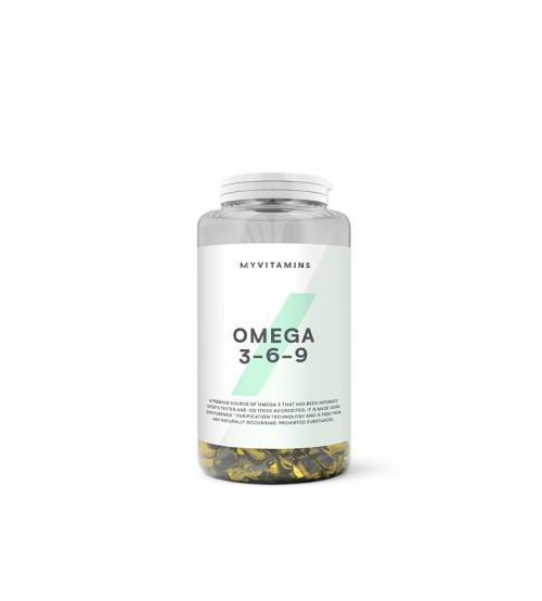 Myprotein MyVitamins Omega 3-6-9 120caps
