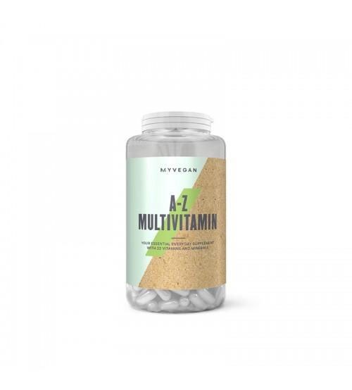 Веганские мультивитамины Myprotein Myvegan A-Z Multivitamin 60caps