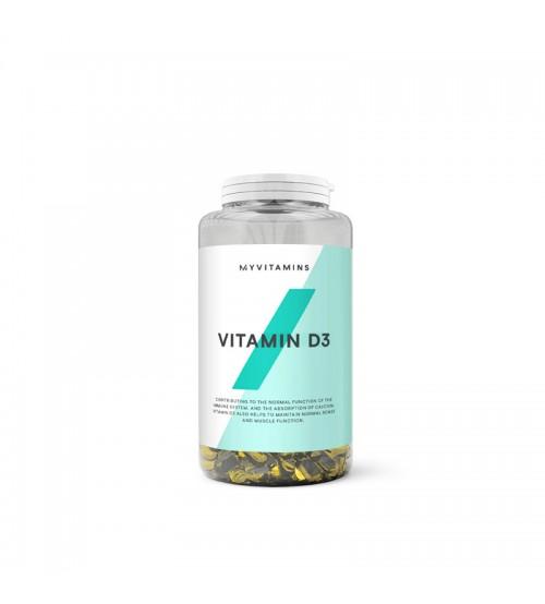 Витамин D3 Myprotein MyVitamins Vitamin D3 180caps