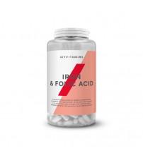 Железо с фолиевой кислотой Myprotein Myvitamins Iron & Folic Acid 90tabs