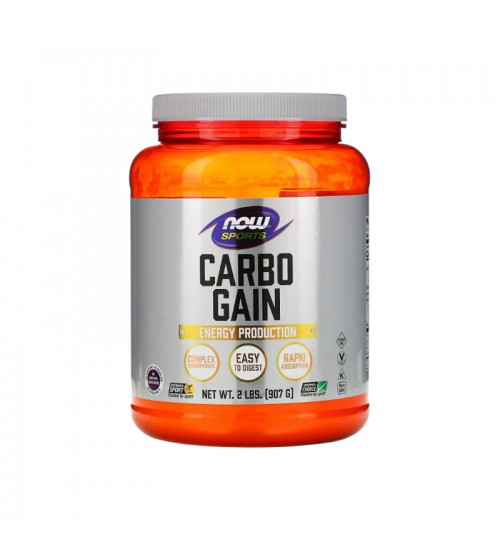 Мальтодекстрин Now Foods Sports Carbo Gain 907g