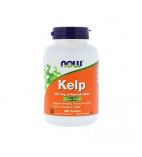Натуральный йод Now Foods Kelp Natural Iodine 150mcg 200tabs