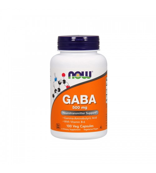 Now Foods GABA 500mg 100caps