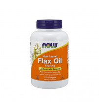 Now Foods High Lignan Flax Oil 1000mg 120caps