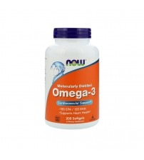 Now Foods Omega-3 Fish Oil 1000mg 200caps