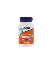 Now Foods Omega-3 Fish Oil 1000mg 30caps
