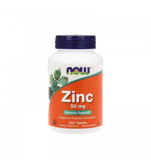 Цинк Now Foods Zinc 50mg 250tabs