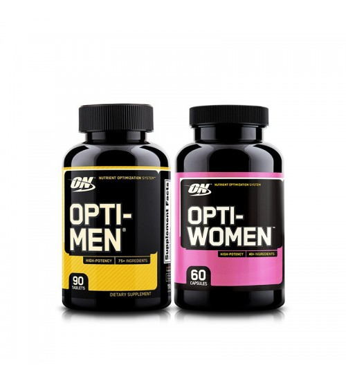 Комплект витаминов Optimum Nutrition Opti-Men 90tabs + Opti-Women 60caps