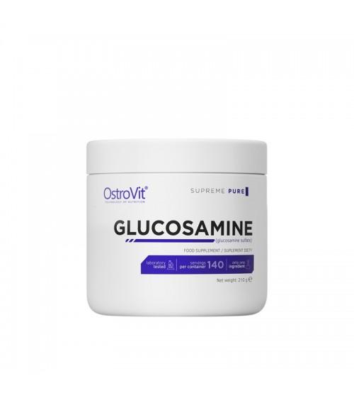 Глюкозамин порошок OstroVit Glucosamine Pure Powder 210g