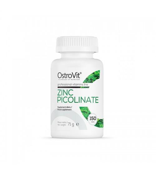 Цинк OstroVit Zinc Picolinate 150tabs