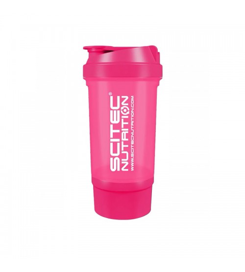 Шейкер Scitec Nutrition Travel Pink 500ml