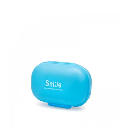 Таблетница Smile Pillbox Blue