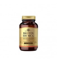 Биотин Solgar Biotin 300mcg 100tabs