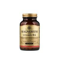 Магній з вітаміном B6 Solgar Magnesium With Vitamin B6 250tabs
