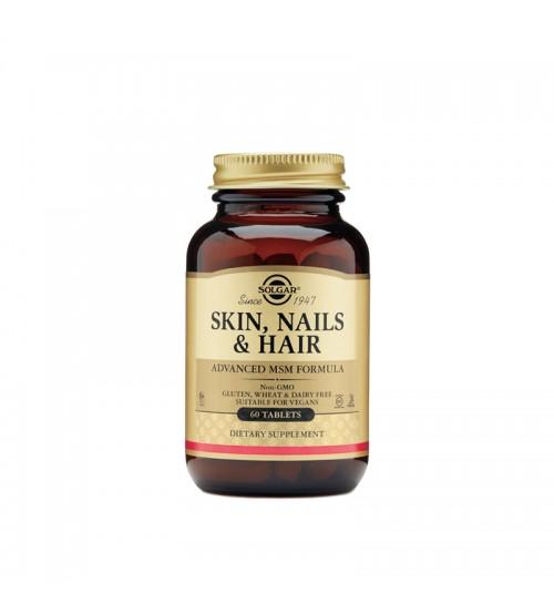 Solgar Skin Nails & Hair Advanced MSM Formula 60tabs