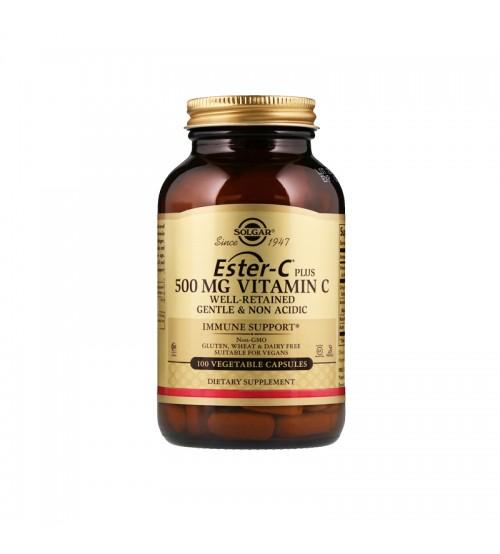Витамин C Solgar Ester-C Plus Vitamin C 500mg 100caps