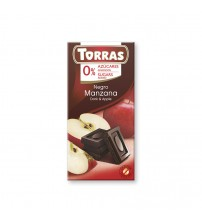 Шоколад без сахара Torras Dark Chocolate With Apple 75g