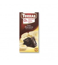 Шоколад без сахара Torras Dark Chocolate With Banana 75g
