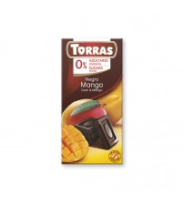 Шоколад без сахара Torras Dark Chocolate With Mango 75g