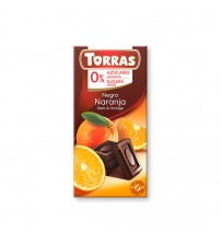 Шоколад без сахара Torras Dark Chocolate With Orange 75g