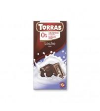 Шоколад без сахара Torras Milk Chocolate 75g