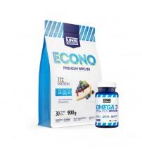 Комплект UNS концентрат Econo Premium 900g + Omega-3 40caps